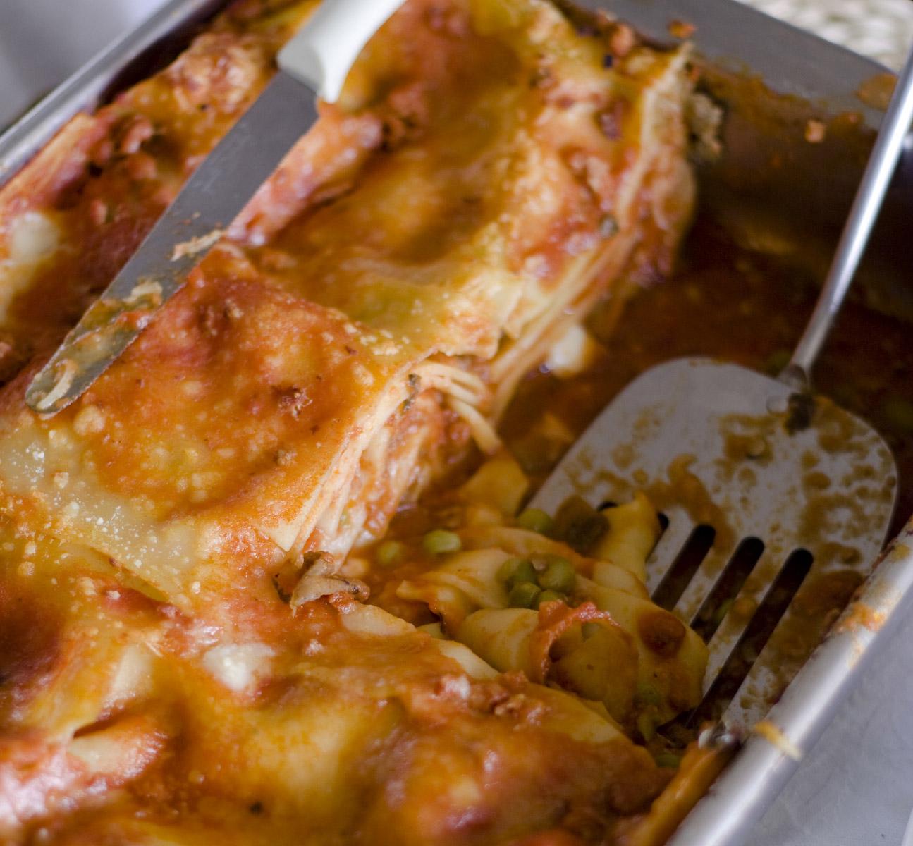 Neapolitan Carnival Lasagna - Italian Cuisine