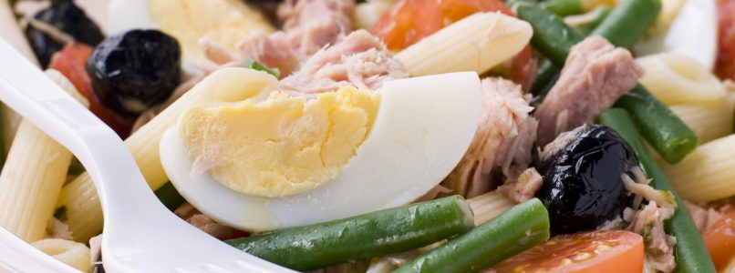 Nicoise pasta: the perfect first course for a picnic