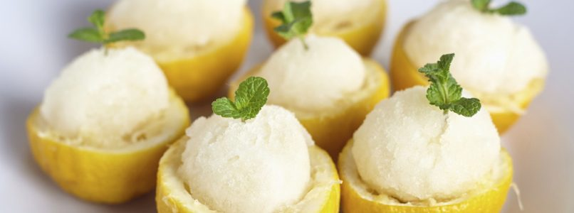 Not just lemon, all the ideas for summer sorbets