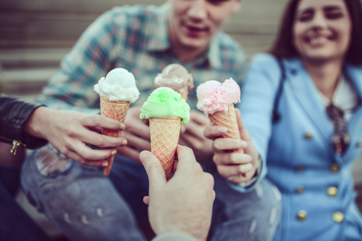On March 24, Gelato Day is celebrated throughout Europe