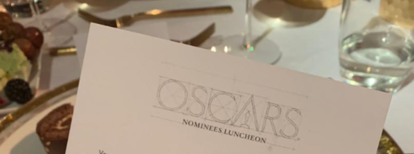 Oscar: dinner is vegan