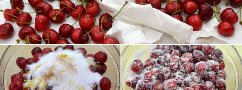 »Pan-fried cherry pie