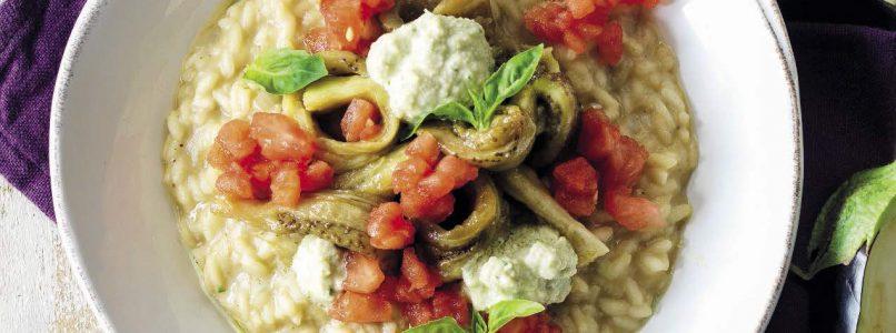 Parmigiana recipe in risotto - Italian Cuisine