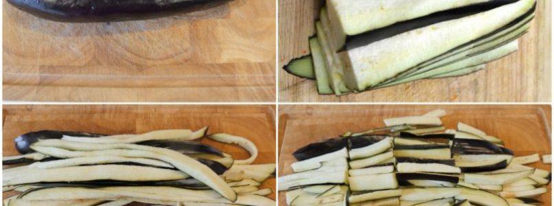 »Pasta with ricotta and eggplant cream
