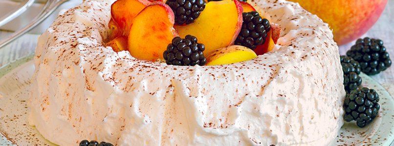 Peach Semifreddo Recipe - Italian Cuisine