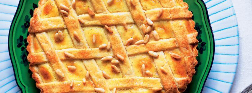 Pine nut pie recipe - Italian Cuisine