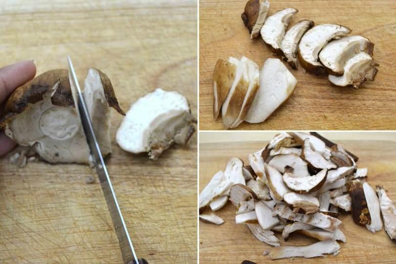»Porcini mushroom balls