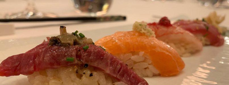 Porto Rotondo and the sushi limited edition that smells of pecorino