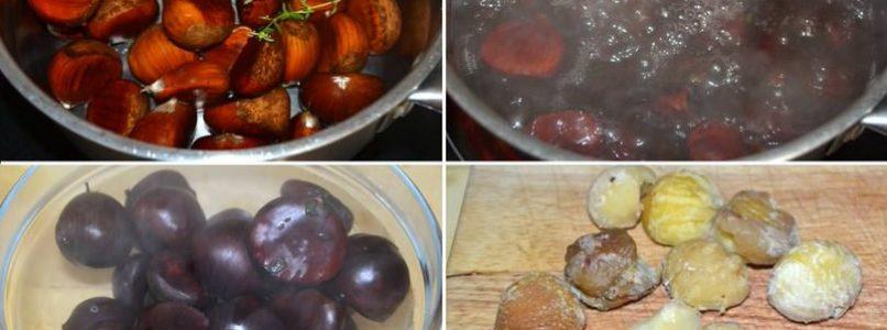 »Pumpkin and chestnut velouté