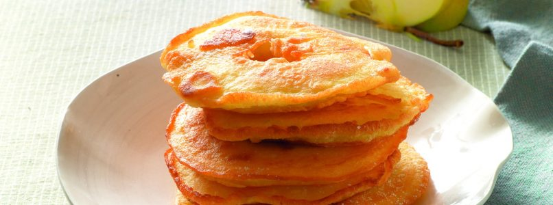 Recipe Apple fritters in beer batter