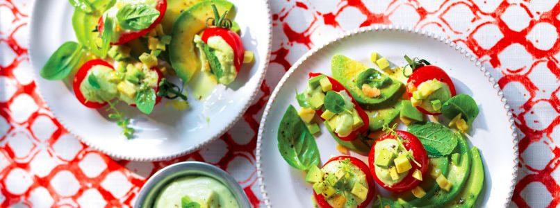 Recipe Avocado stuffed cherry tomatoes