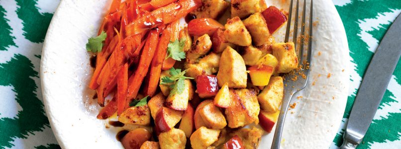 Recipe Chicken curry with apples and carrots
