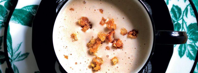 Recipe Cream of bread and milk