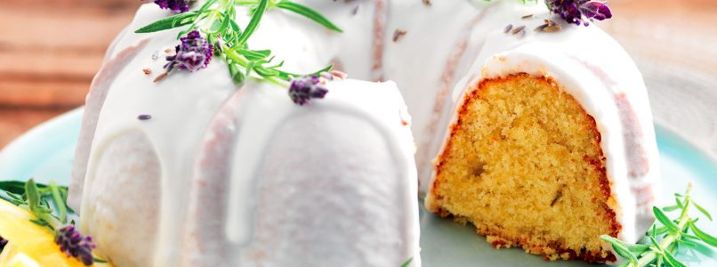 Recipe Donut with lemon and lavender