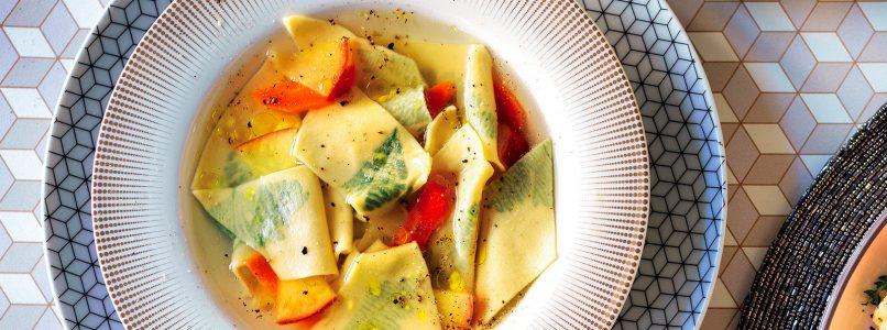Recipe Maltagliati with parsley in broth