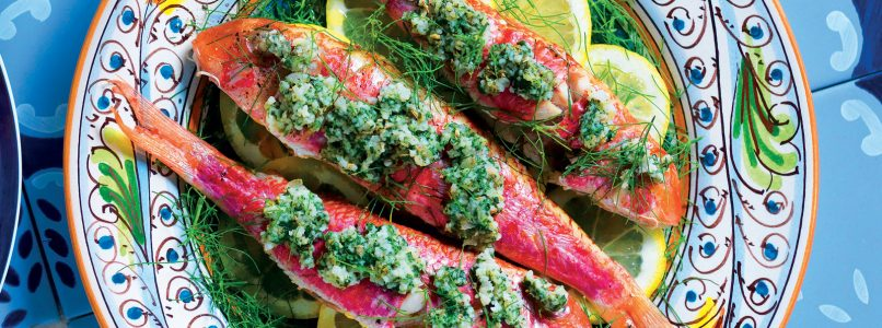 Recipe Mullets with fennel - Italian Cuisine