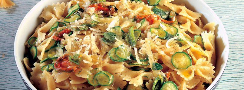 Recipe Pasta salad with zucchini