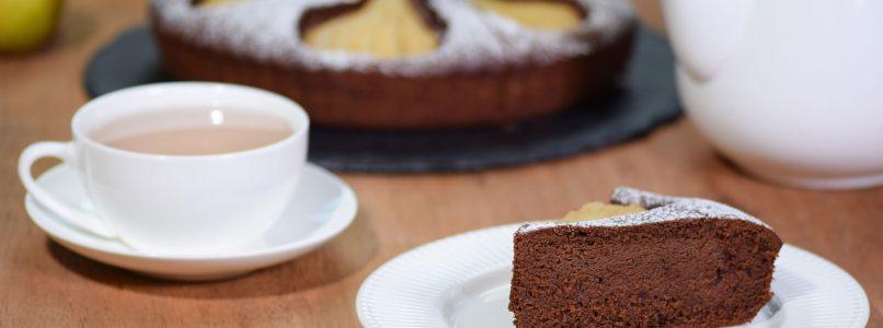 Recipe Pear and chocolate cake