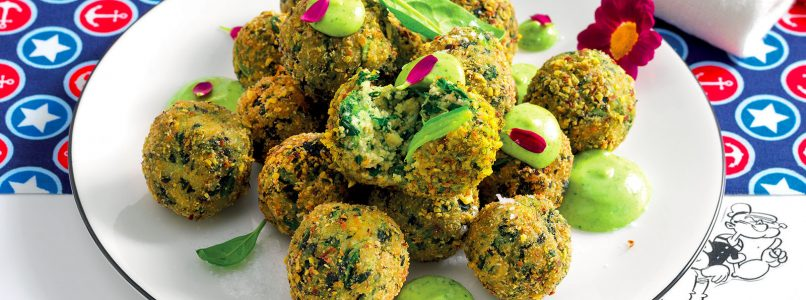 Recipe Potato balls with lime sauce