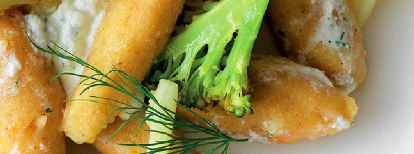 Recipe Potato gnocchi and chestnuts