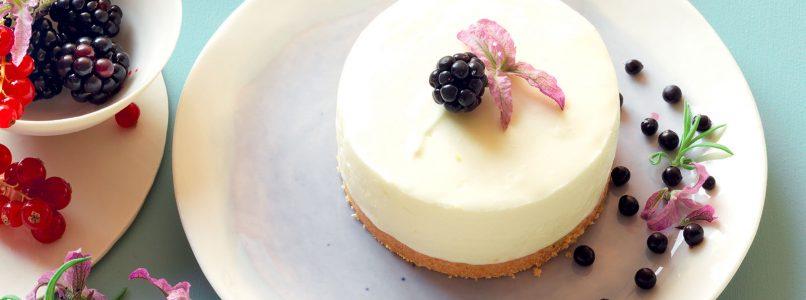 Recipe Small lavender cheesecake