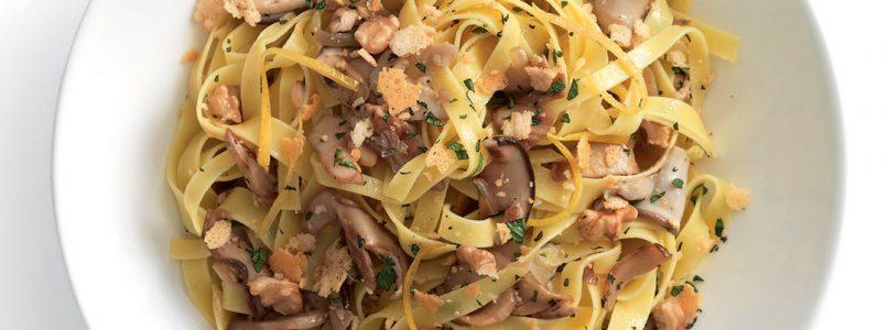 Recipe Tagliatelle with porcini mushrooms (without cream!)