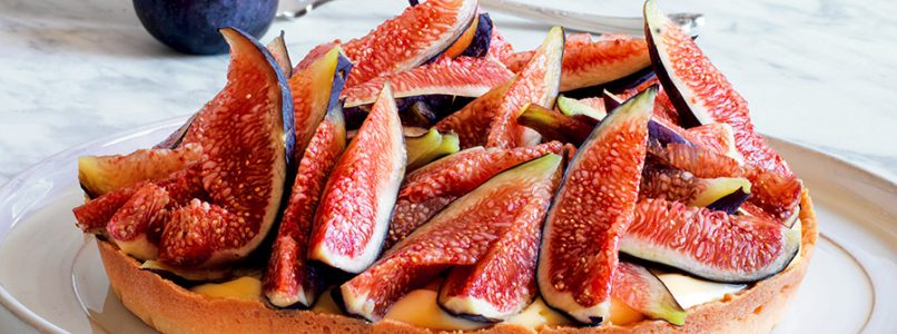 Recipe Tart with figs and frangipane cream