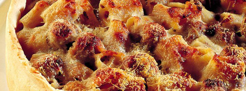 Recipe Timbale of pasta in crust