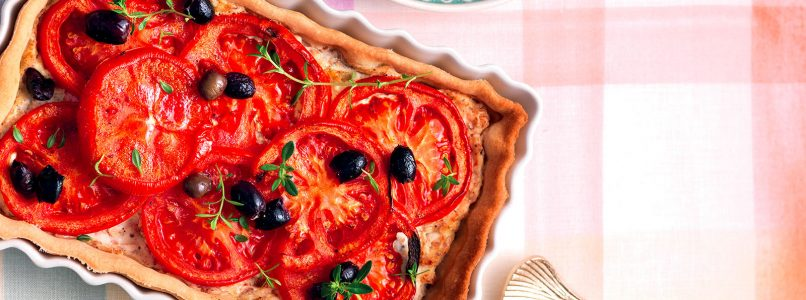 Recipe Tomato tart - Italian cuisine