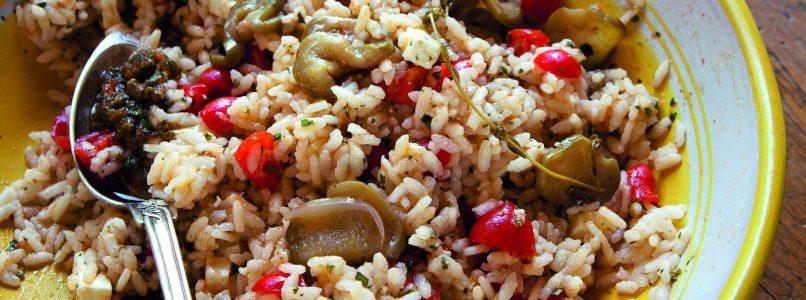 Rice Salad Recipe - Italian Cuisine