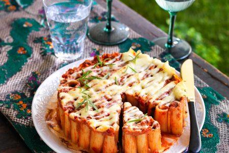 Rigatoni Cake Recipe - Italian Cuisine