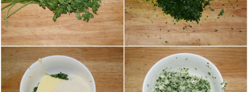 »Risotto with parsley - Recipe Risotto with parsley from Misya