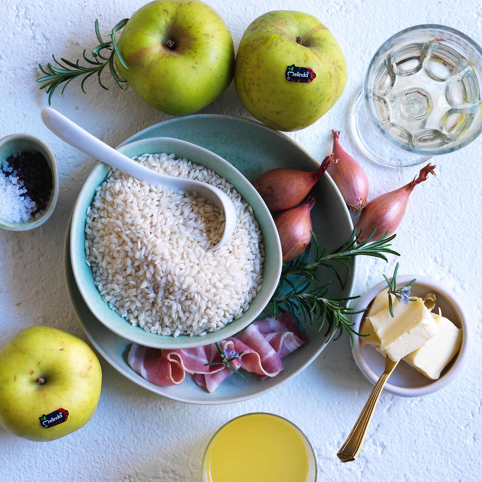 risotto with rennet apple ingredients