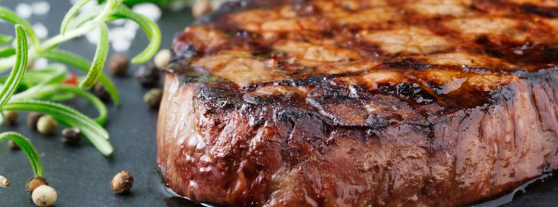 Roast meats and fish with marinades
