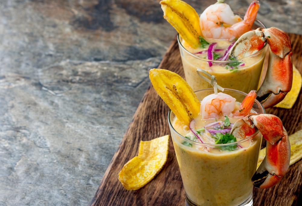 Romantic menu: Leche de Tigre