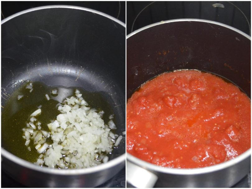 »Salami and scamorza pasta