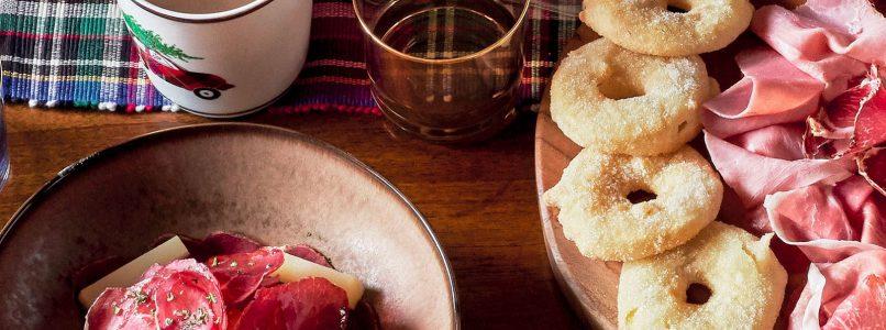 Salty and salami pancakes recipe