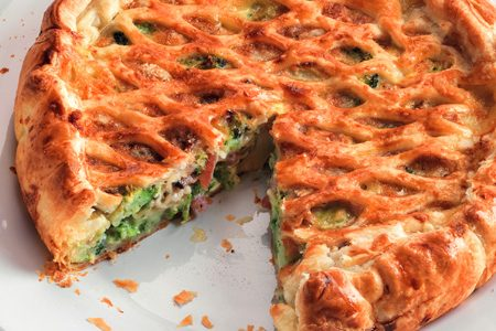 Savory pie: easy and delicious recipes