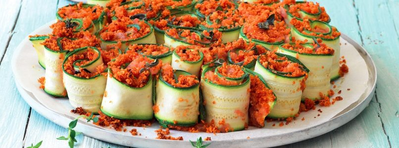 Stuff and roll: 10 rolls with zucchini