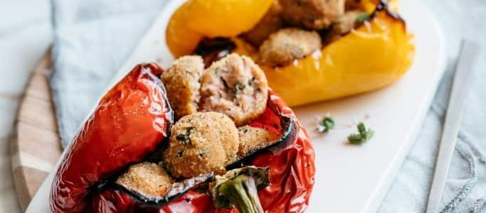 Stuffed peppers: 8 simple recipes