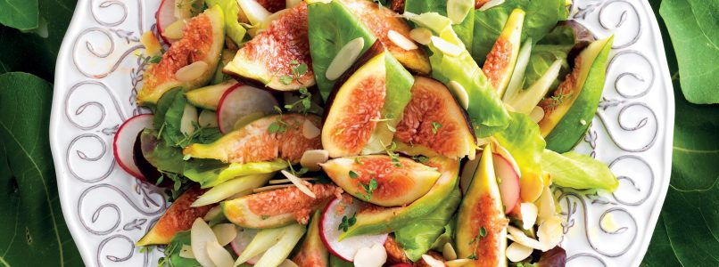 Summer salad with figs recipe