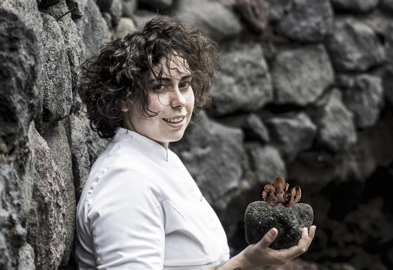 The Michelin Chef Woman 2019 award by Veuve Cliquot to Martina Caruso