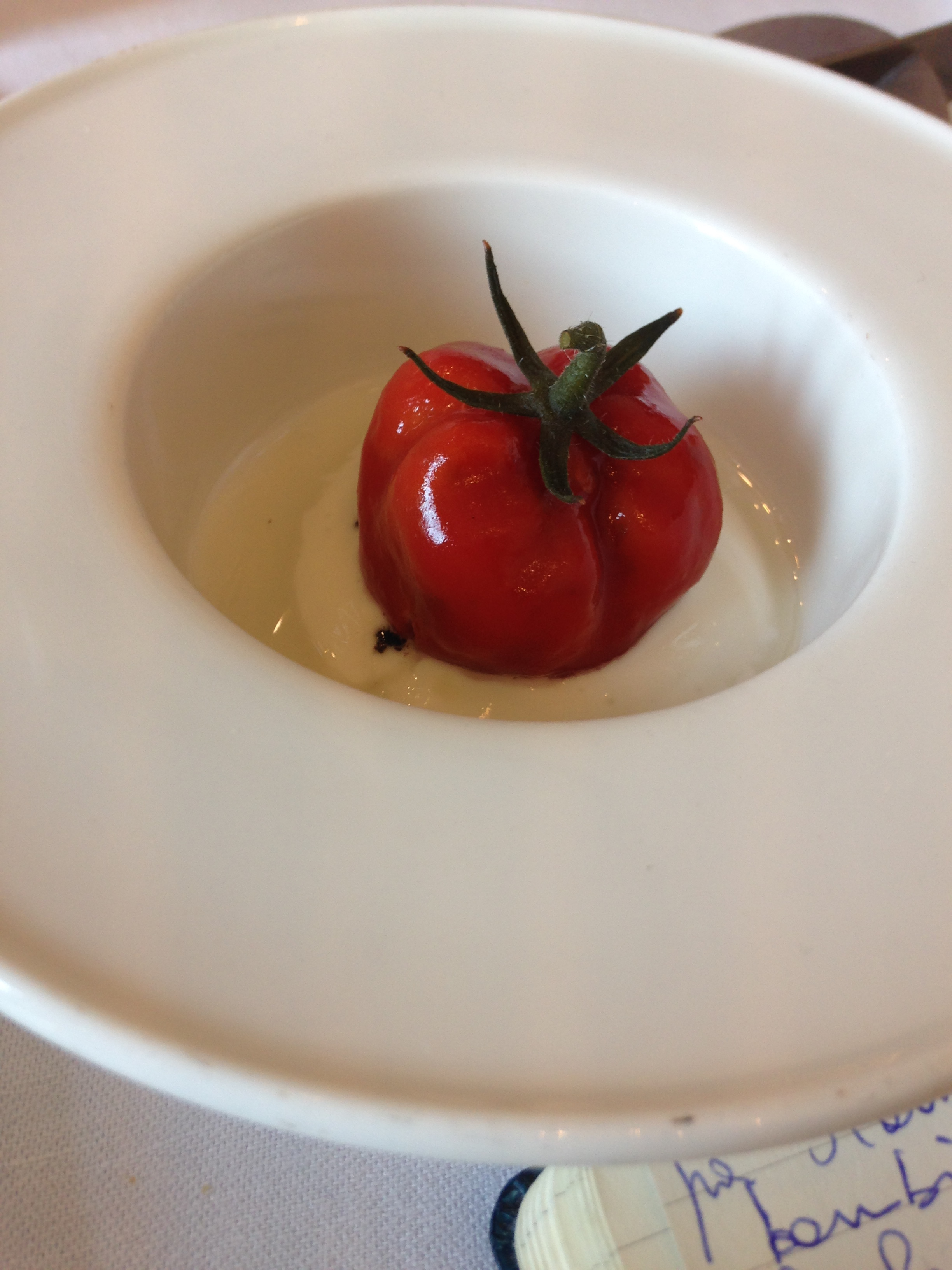 The Kitchen Of The New Michelin Star Vincenzo Manicone At The Bistrot Italian Cuisine Gordon Ramsay Recipes