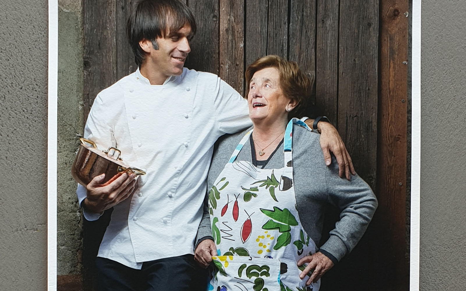 The mothers of the world are all beautiful when a chef takes their heart
