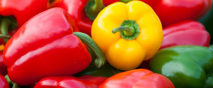 The nutritional values ​​of peppers