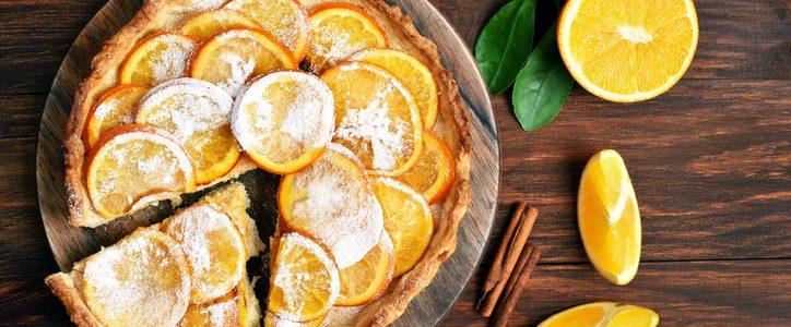 The orange tart recipe