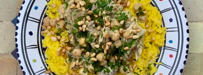 The recipe for mansaf, the most Palestinian dish there is