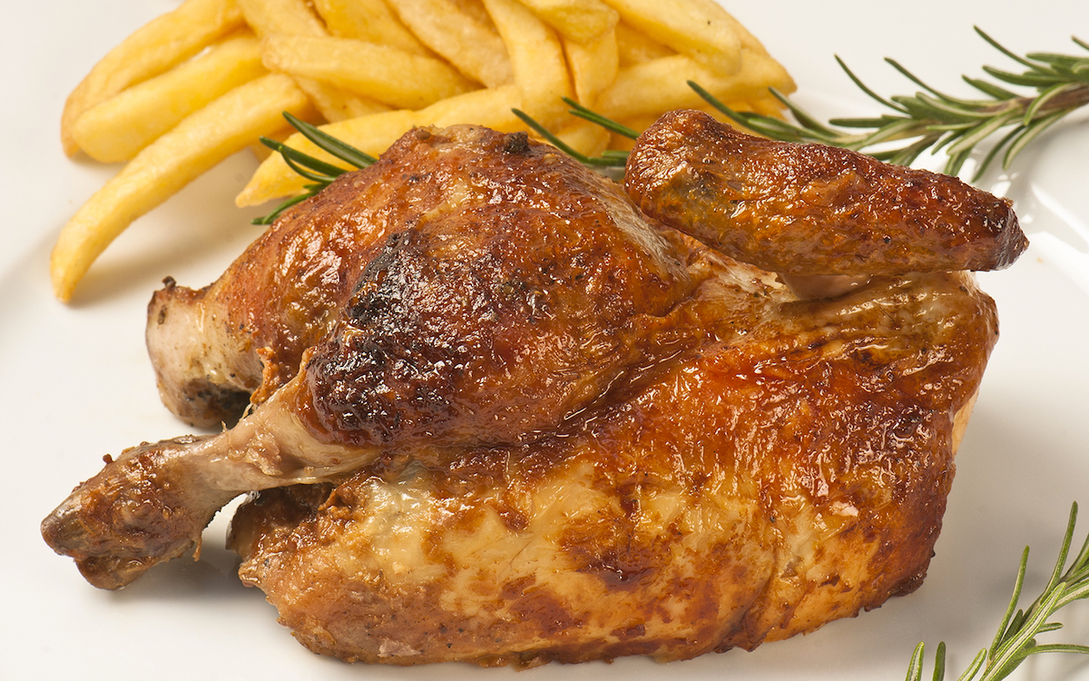 The secrets of Giannasi's chicken. A family story and love for work