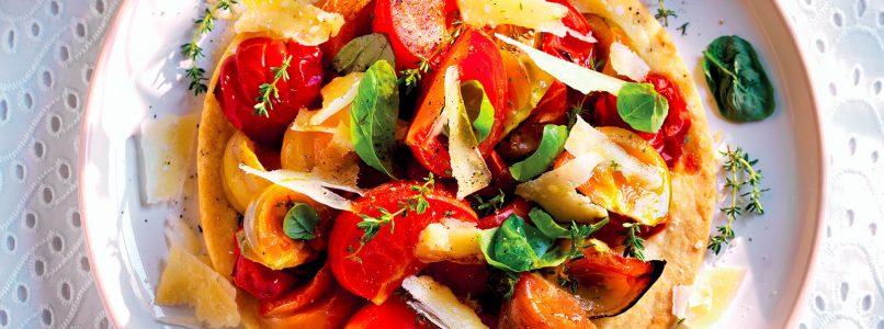 Tomato Pie Recipe - Italian Cuisine