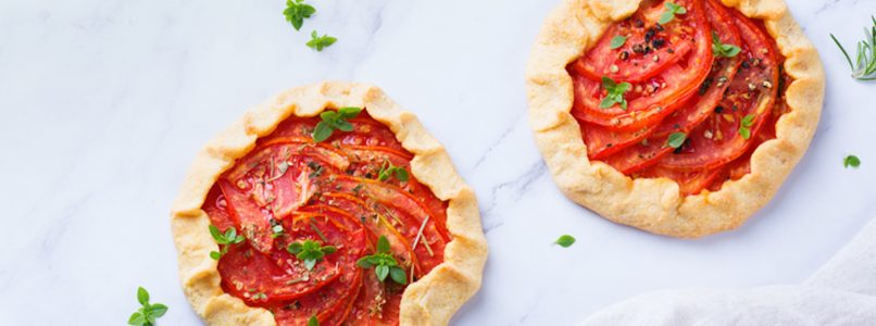 Tomato galette: the savory pie of the summer